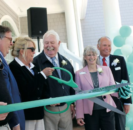 Macky & Pam Stansell House opens
